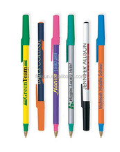 bic slogan ball pen/blue bic pens/bic yellow pen