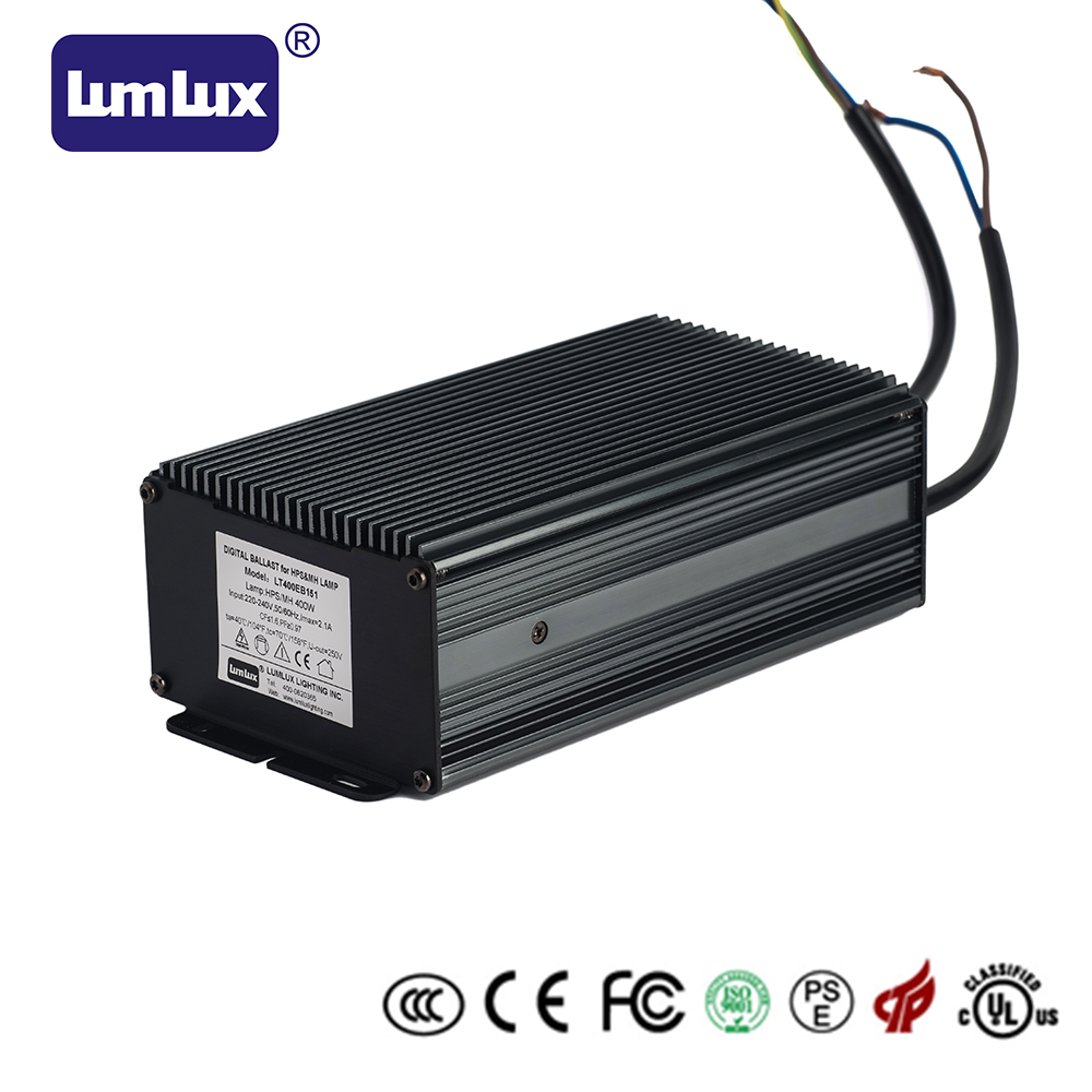 400W Innovative dimmable electronic ballast for HID/HPS/MH lamp