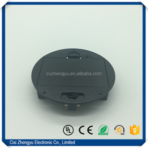 3 aaa round battery holder/ battery holder aaa with Cover and Switch