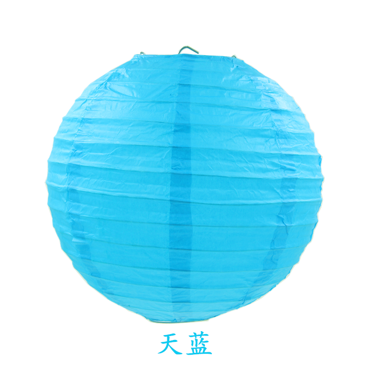 round japanese paper lanterns for christmas ZDL-B