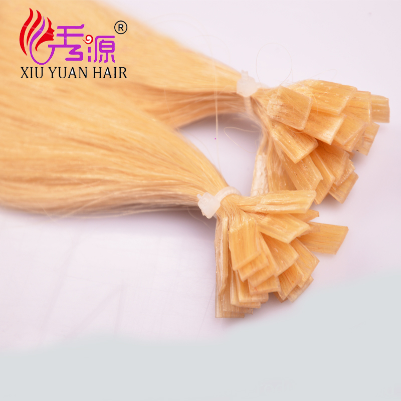 Flat hair clip Best quality cheap price top quality indian wholesale chi flat in hair remy human hair