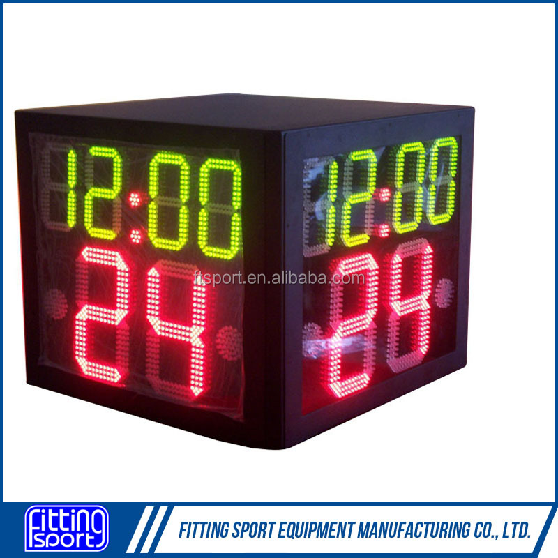 Three Side Basketball 24 seconds Shot Clock for competition