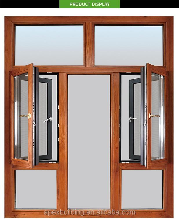 Custom aluminium alloy frame used casement windows and for Custom windows and doors