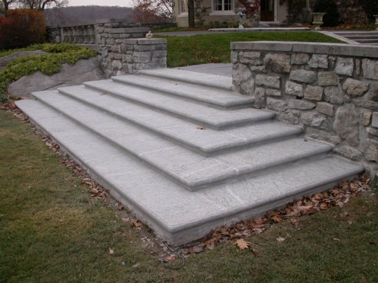 Patio Flamed G603 Stone Stair For Tread Design At Factory Price With Good  Quality