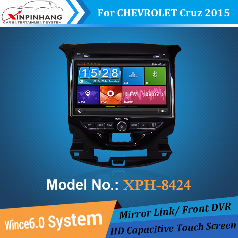 dvd car audio navigation system for CHEVROLET CRUZE 2015 with gps,3G/WIFI,Mirror link