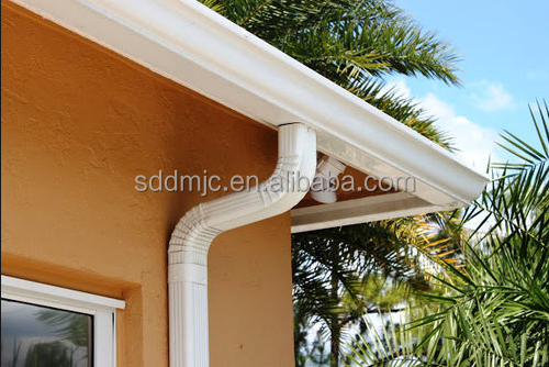 Techo de pl stico de drenaje de cobre techos materiales de - Canaleta de desague ...