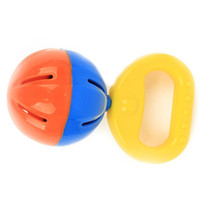 6pcs/lot Lovely Plastic Baby Toys Hand Shake Bell Ring Rattles toys Baby Educational Toys