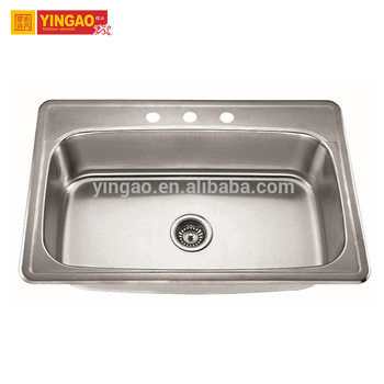 China Manufacturers New Style Discount Handwashing Large Stainless Steel Sink