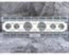 "1967-1972 Ford Truck Dash Inserts - 3 1/8"" & 2 1/16"" VDO (6 gauge)"