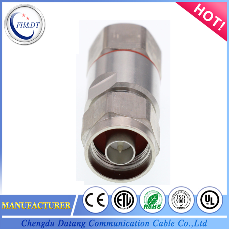 "OEM customized wireless communication 7/8"" feeder cable connector"
