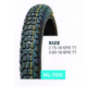 2.75-18 Rubber Wholesale Color Motorcycle Tires