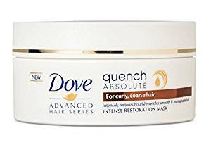 Dove Advanced Hair Series Quench Absolute Intense Basic Conditioning Restoration Mask 6.7 oz