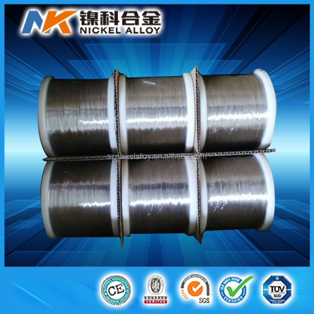 High Purity Ni200 1mm 1.5mm Nickel Wire