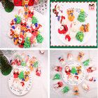 Colorful Sweet Christmas Marshmallow With Plastic Jar