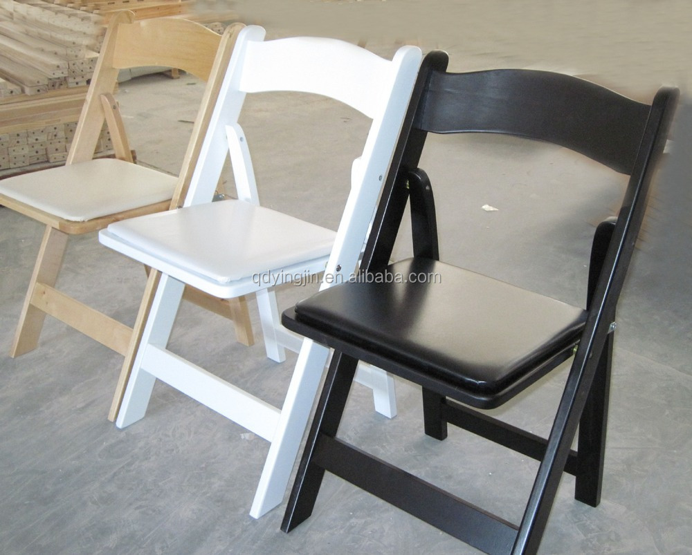 Resin folding chairs - White Wood And Resin Folding Chairs For Sale