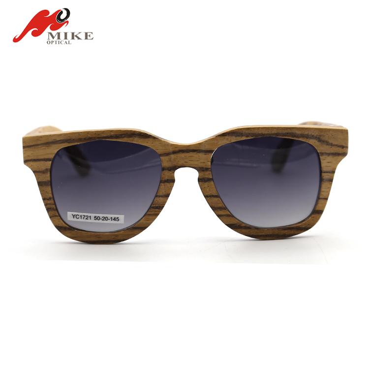 b400822ed 2018 نظارات الرجال مربع خشبي الخشب hd عدسة الإطار اليدوية النظارات الشمسية  بالجملة الصين