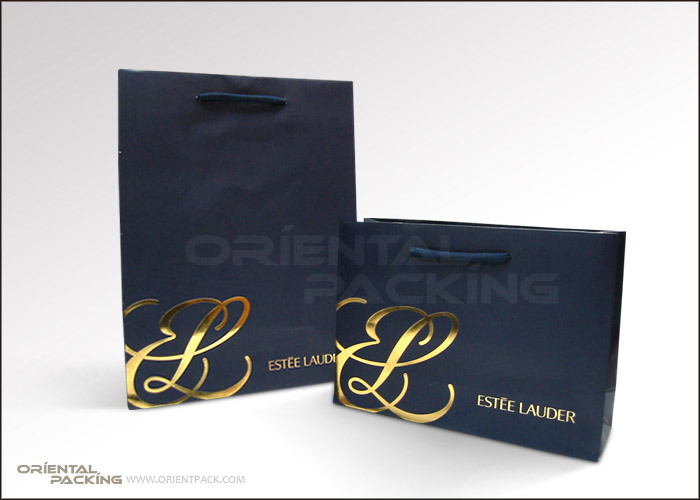 Cosmetic shopping paper bag