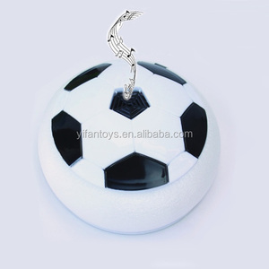 Newest Indoor Musical Electronic Floating Hover Ball with Colorful LED Light For Boy Football Toys