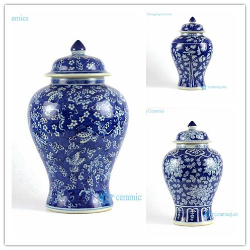 Rylu77 A B C Hand Painted Blue And White Porcelain