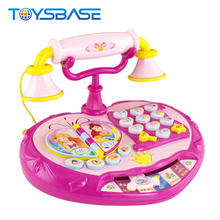 Intercom Phone Toys - Lovely Pink Princess Phone Mini Baby Phone