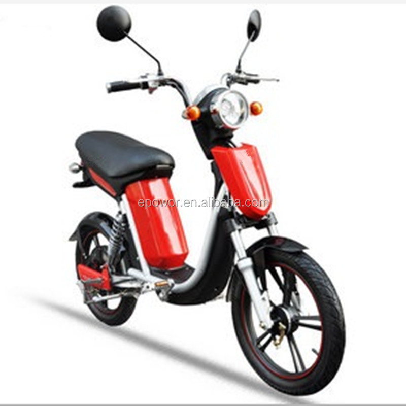 18inch CE lithium e-scooter ebike electric bicycle electric scooter with pedal 500W 48V12Ah lithium battery HC-EM29 Knight-2