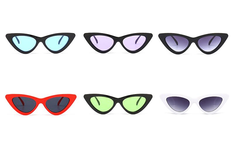 f09d29279f14a TC56 cute sexy retro cat eye sunglasses women small black white 2018  triangle vintage cheap sun