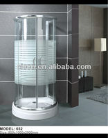 Luxury Bathroom Tempered Glass Door Decorating Small Bathrooms