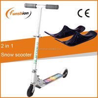 2015 cheap snow scooter / snowmobile toy / 2 in 1 sledge snow scooter