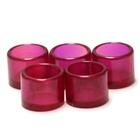 Customize 5# ruby inserts Jewel & Watch Bearing Synthetic Ruby cups