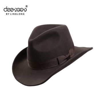 e939dd1ed6817 Custom Men Hats Wool Felt Cowboy Hat Wholesale Lemmy Cowboy Hat ...