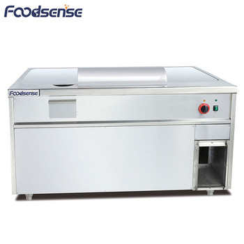 Commercial Restaurant Used 8.1KW Electric Teppanyaki Grill Cooker