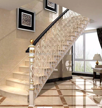 Barandillas escaleras interiores ideas para decorar con for Escalera de hierro forjado
