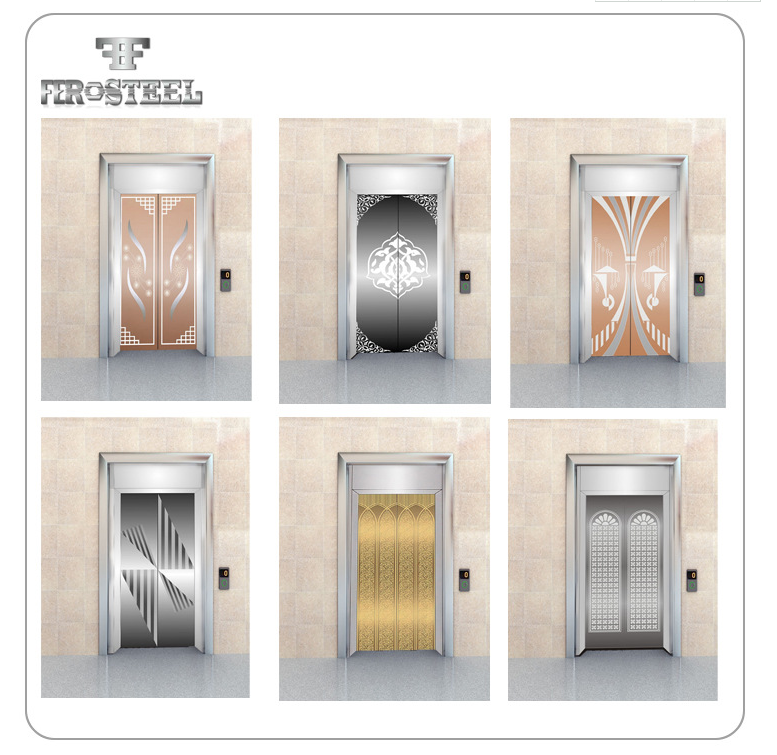 2019 new pattern etching finish stainless steel decorative sheet for elevator cabin