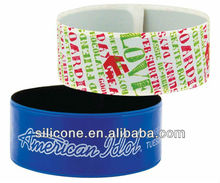 hot selling wide silicone bands