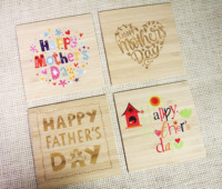 postcards engraved/color printing cards