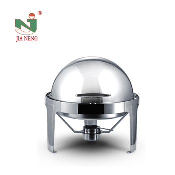 Round-Top,6.8L,Buffet Stainless Steel Chafing dish professional catering serving dishes commercial kitchen equipment