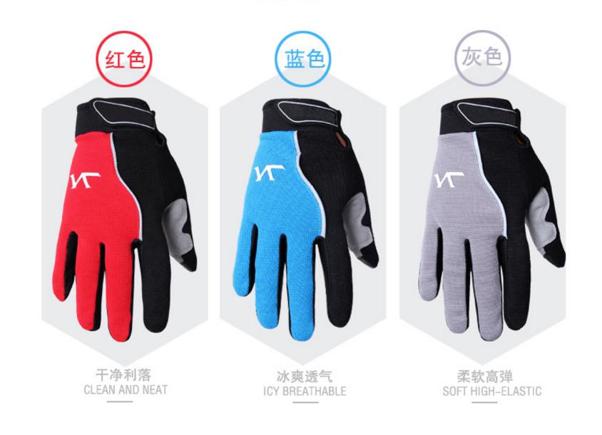 Cycling Bicycle BMX Motocross Skull Skeleton Riding SPAKCT Full Finger Gloves