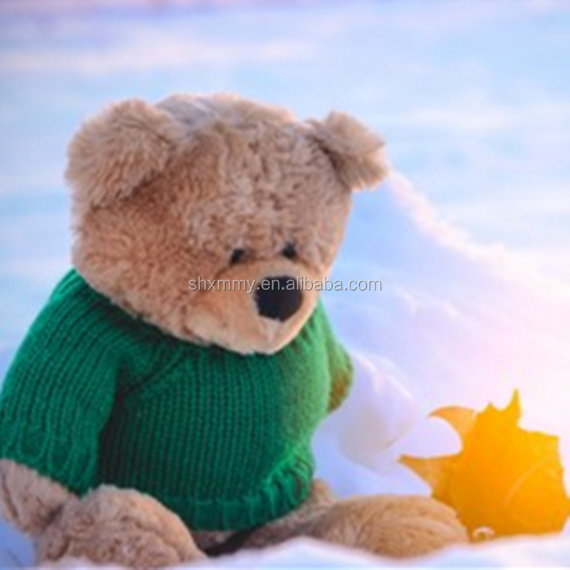 Factory Wholesale High Quality Kids Soft Custom Stuffed Animals Teddy Bear With Clothes Plush Toy