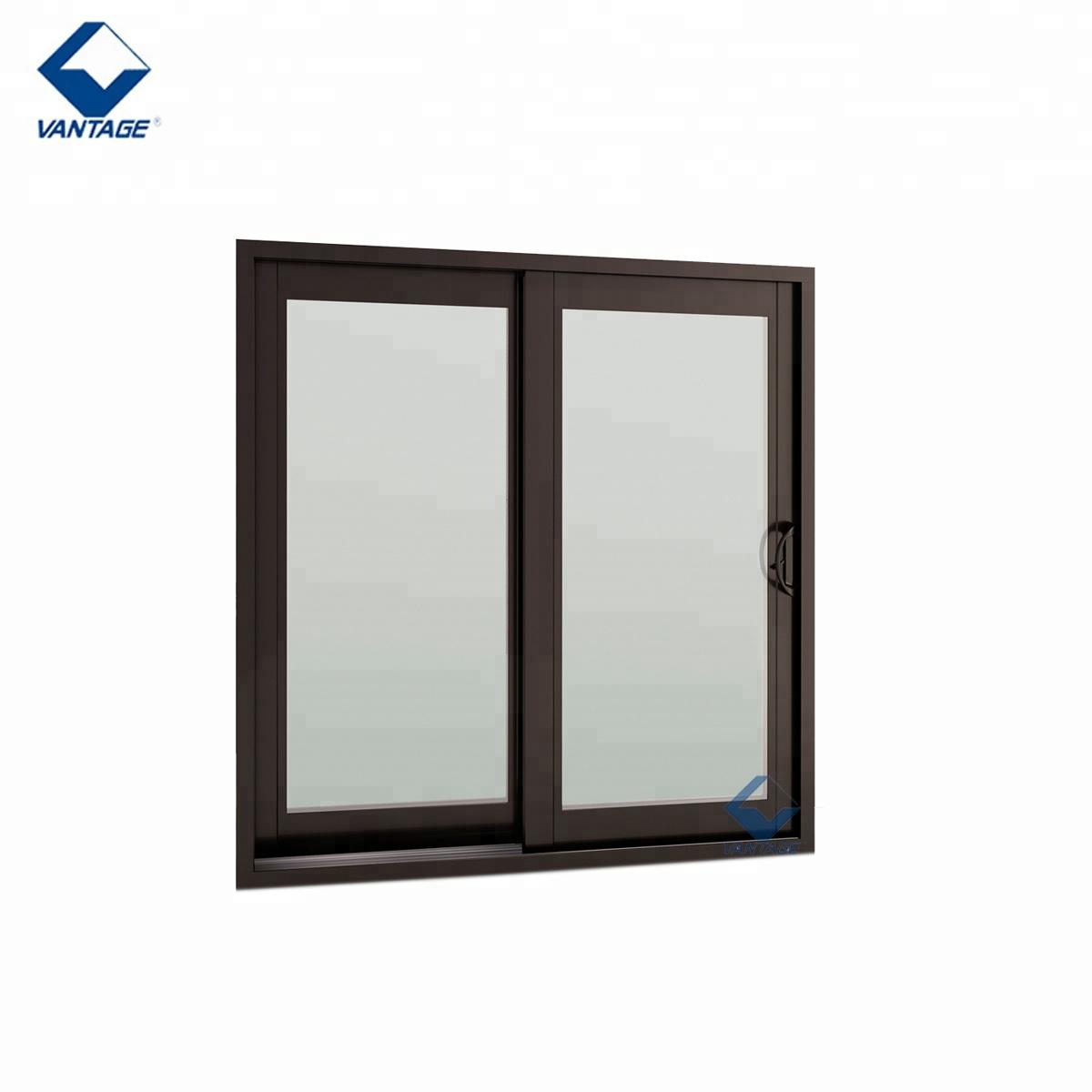 Office Sliding Glass Window Aluminium Double Glazed Windows And