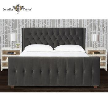 Mobilier De Chambre King Size Tête De Lit EnsembleStyle Américain - Tete de lit cadre photo
