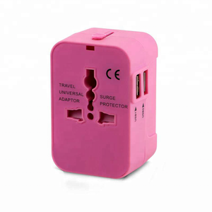 All in one factory newest arrival patent world standards universal travel smart adapter plug and socket usb plug