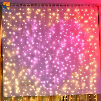 connectable led curtain lightled christmas lightsled holiday light for window decoration