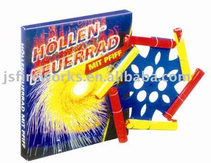 Novelty Product-Wind Spinner Wheel Fireworks