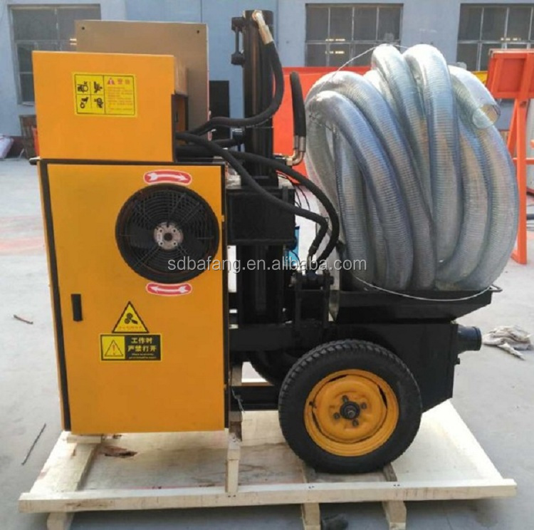 Small Portable Electric Concrete Pump / Mini Concrete Pump / Concrete Grouting Machine