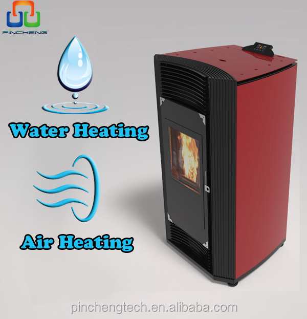 multifunction small cheap wood pellet stove with water and air heating