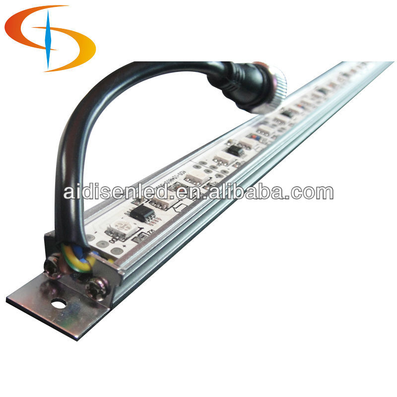 2012 Magic color CE/BV/RoHS super bright SMD 5050 RGB led rigid strip