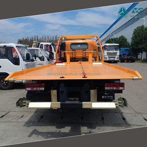 Sino Tow Truck Wrecker Capacity 2 ton Wheel Lift Plus 4 ton Wrecker Bed