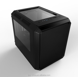 Super Mini Cube Micro ATX PC Case Computer Gaming Case with 240mm Water Cooling Systerm