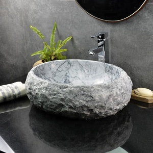 Bathroom Natural Marble Stone Wash Basin Sink,Sink Stone,Home Decoration Cheap Natural Stone Sink