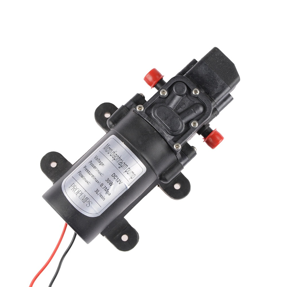 3L/min 30W 12V Water Pump Air to Water Heat Pump Small Water Pump